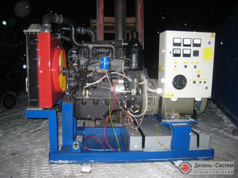 Фото и обозначение электрогенератора АД-50С-Т400-Р