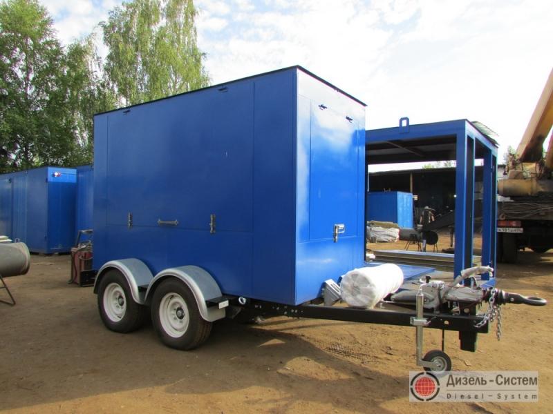 Дизельный генератор 100 кВт на шасси (передвижные генераторы 100 кВт)