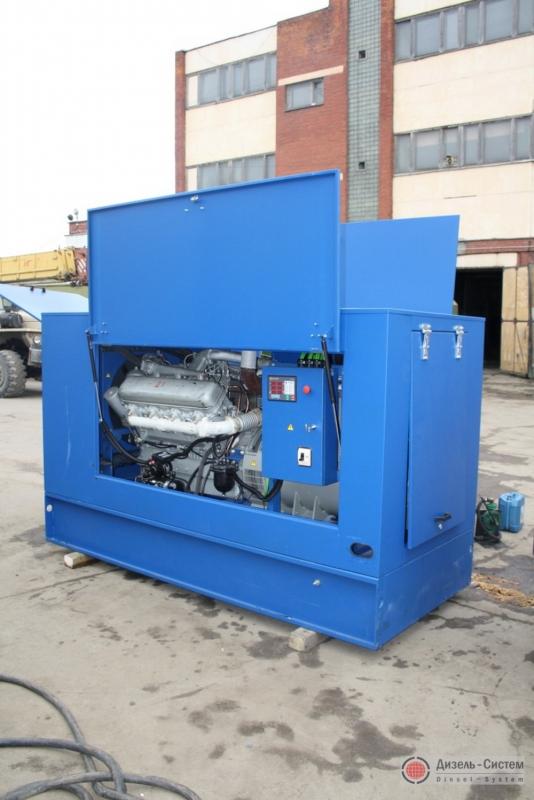 Фото агрегата дизельного АД-100 в капоте