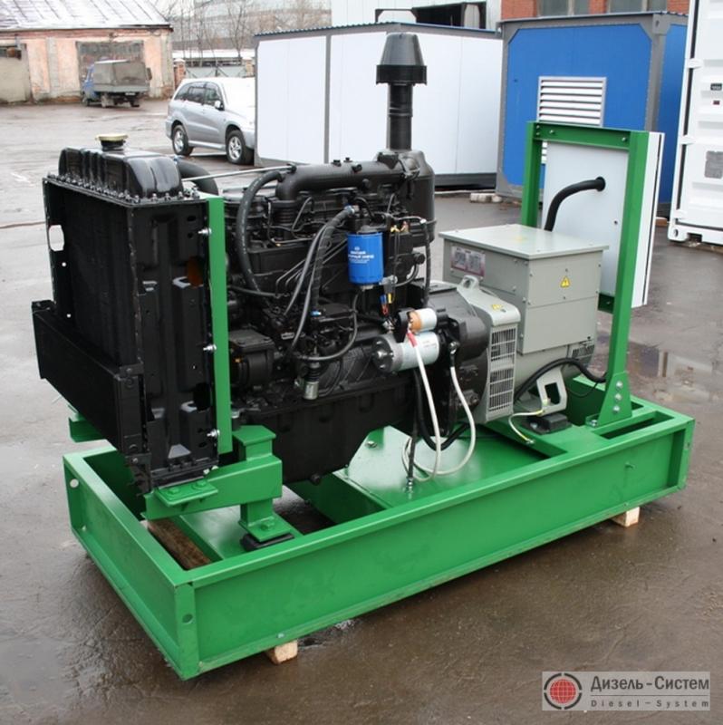 АД-30С-Т400 ММЗ генератор 30 кВт на раме открытого исполнения