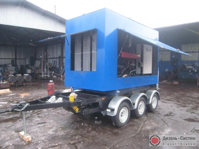 АД-250-Т400-1РЯ генератор 250 кВт на шасси прицепа