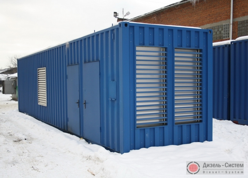 АД-350С-Т400-2Р ЯМЗ-236БИ2 (АД-350-Т400-2Р ЯМЗ-236БИ2) в блок-контейнере с автоматическим запуском (АВР)