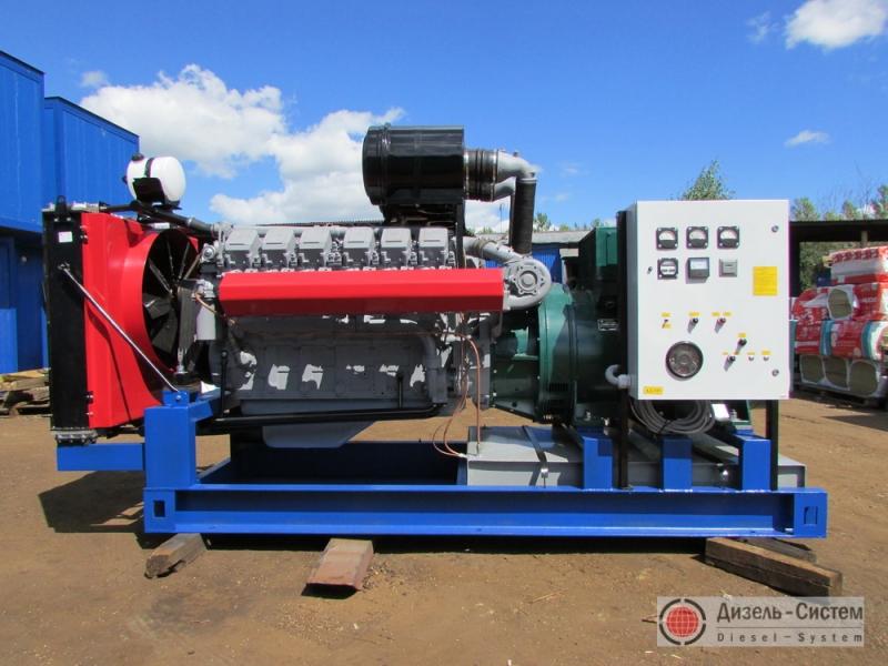 Фото и обозначение электрогенератора АД-320С-Т400-Р