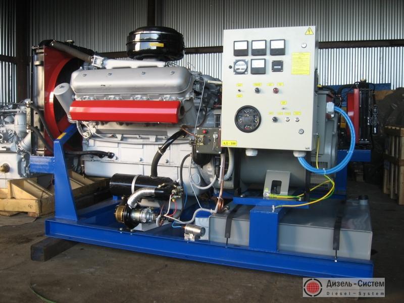 Фото и обозначение электрогенератора АД-100С-Т400-Р