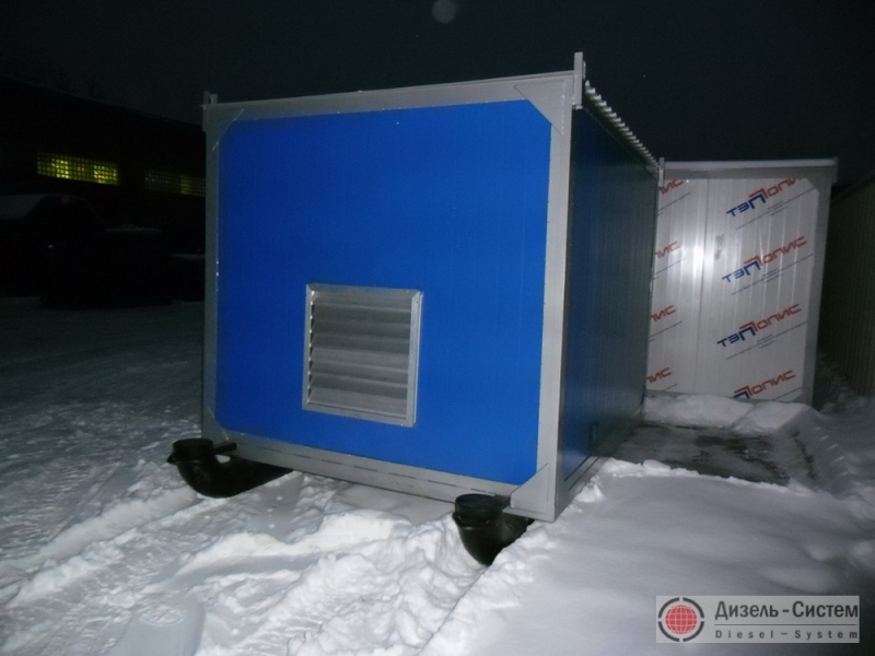 Фото станции ДЭС-250 в контейнере