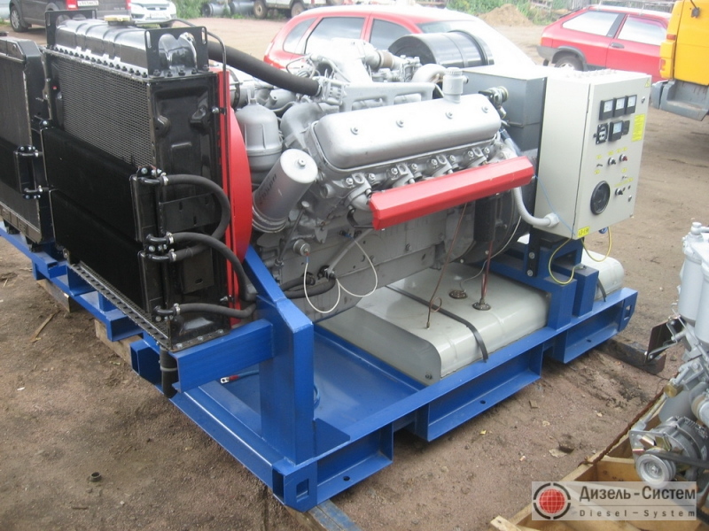АД-160С-Т400 ЯМЗ (АД-160-Т400 ЯМЗ) генератор 160 кВт с двигателем ЯМЗ